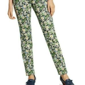 BROOKS BROTHERS  flower bouquet ankle pants
